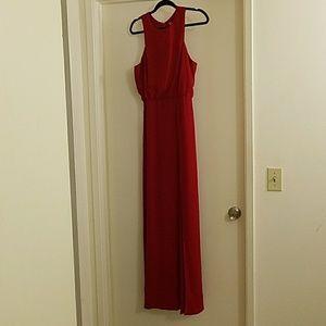 Forever 21 long red dress